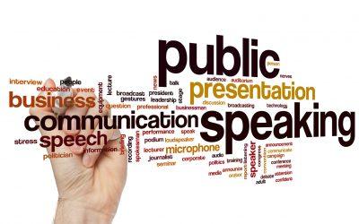 Hablar en público en inglés