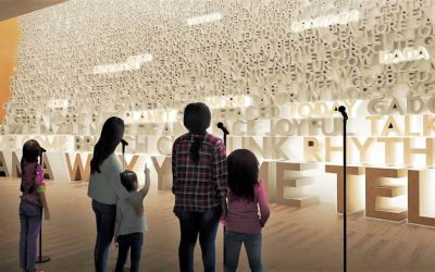 A new unique museum dedicated to words and language is set to open in October